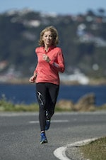 Kathrine Switzer PR shoot, Friday 24 February 2017 in Wellington, New Zealand. Credit: Hagen Hopkins.