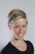 MARATHON WOMAN Pretty Band Black Headband